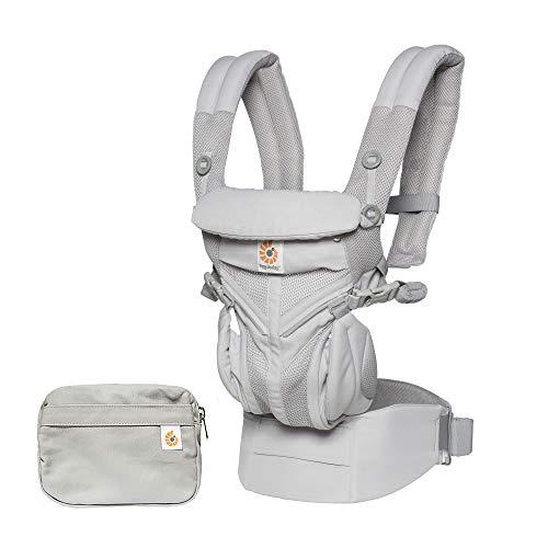 Ergobaby Babytrage Omni 360 Cool Air, Farben Ergobaby:Pearl Grey