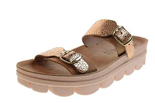 8ee94c9bb47ae FANTASY SANDALS woman shoes slipper S201 REBACA size 41 Rosa antico