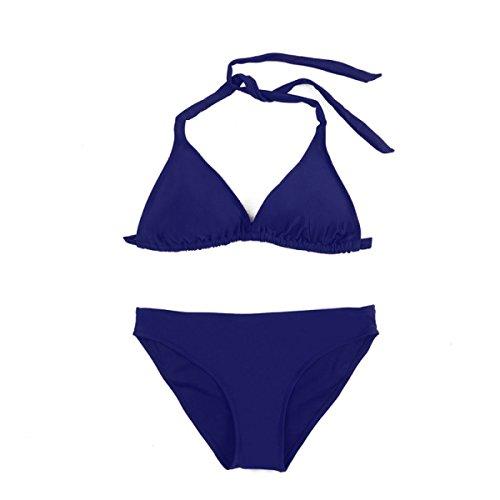 Bikini Badeanzug Mode Persönlichkeit Darkblue