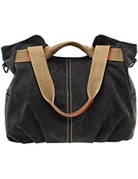 Umily Vintage Tissu Totes Sac à Main Sacoche pour Femmes/Filles sacs à main pour femmes et Hobos Sacs à bandoulière-Purple PdSQ9