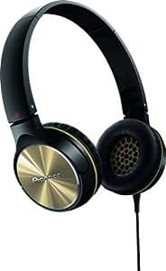 Pioneer SE-MJ532-N Fully Enclosed Dynamic Headphone - Black/Gold