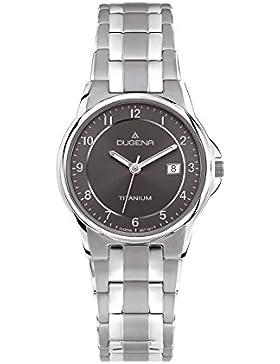 Dugena Damen-Armbanduhr Titanuhren Analog Quarz Titan 4460514