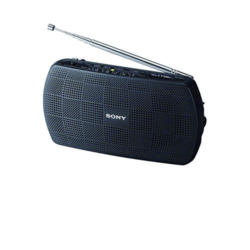 Sony SRF-18 tragbares UKW-Radio (mit Audioanschluss) (Sony Dusche Radio)