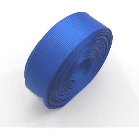 Grosgrain cinta; 20mm de ancho; Azul; 10metre roll