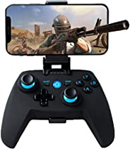 Maegoo Controller per Android/PC/PS3, Bluetooth Wireless Android Mobile Controller con Staffa Retrattile, 2.4G