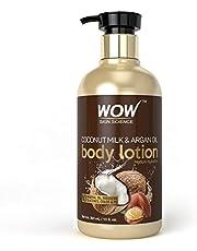 WOW Coconut Milk and Argan Oil Body Lotion Medium Hydration