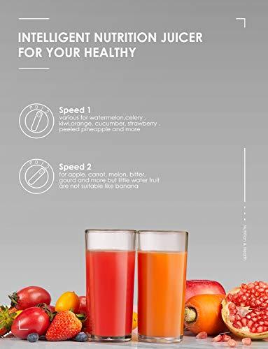 Zentrifugaler Entsafter für Gemüse und Obst Bild 3*