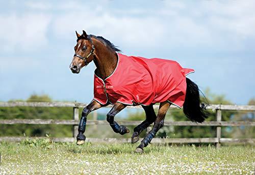 Horseware Amigo Hero ACY Lite 50g Regendecke Red/White (145)