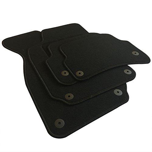 EUGAD AM7183p Autoteppich Auto Fußmatten Matten schwarz
