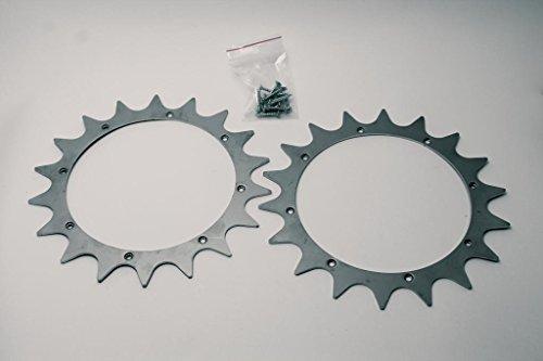 Zucchetti Kit Griffes pour Pentues Roue Ambrogio L30/L200
