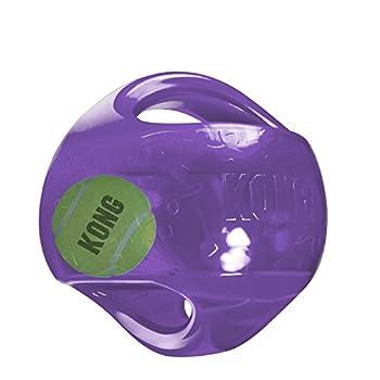 Kong Jumbler Balle Jouets Interactifs pour Chiens L/XL - Coloris aléatoire