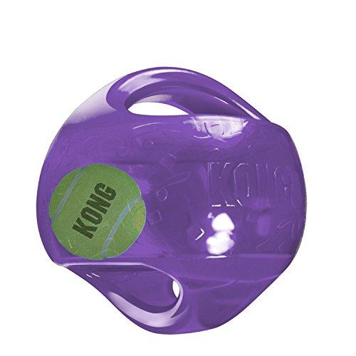 Kong Kong-Ball Jumbler L / Xl 17,7 Cm(Farbig sortiert) (Kong Ball Hundespielzeug)