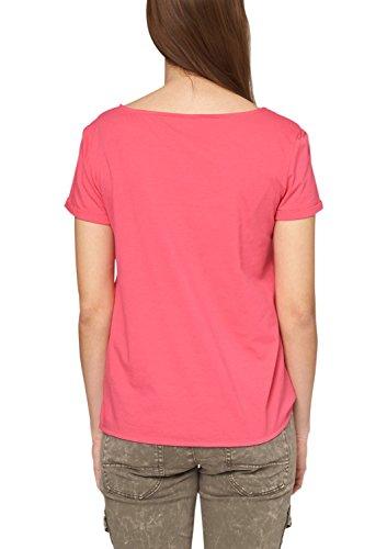 s.Oliver - 14.504.32.2280, T-shirt da donna Rosa (paradise pink 4550)