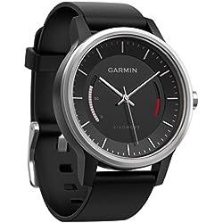 Garmin Vivomove Monitor de actividad con correa deportiva color negro