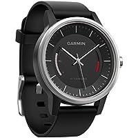 Garmin vívomove Sport Fitness-Tracker im klassischen Uhrendesign - 1 Jahr Batterielaufzeit, Anzeige des Inaktivitätsstatus, Tagesziele