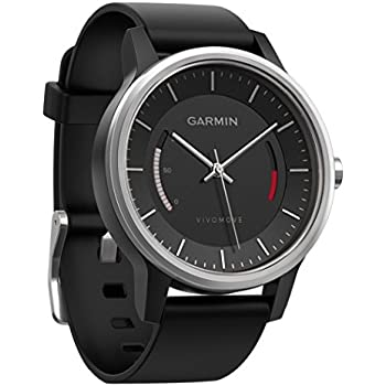 garmin v vomove hr montre connect e hybride l gante avec cran tactile high tech. Black Bedroom Furniture Sets. Home Design Ideas