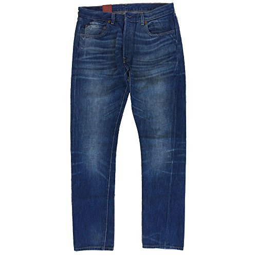 LEVI'S VINTAGE CLOTHING 1966 custom Herrenjeans Waschen 0010 - Denim, 32W / 32L (Vintage Clothing Levi)