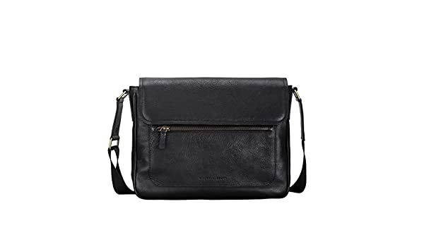 90d76e456c Maxwell-Scott® Handcrafted Italian Black Leather Satchel Bag For Men (The  Livorno)  Maxwell Scott  Amazon.co.uk  Clothing