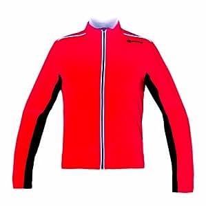 GONSO Bike & Active Herren-Thermo-Active-Jacke Nevada, fire (1400), S