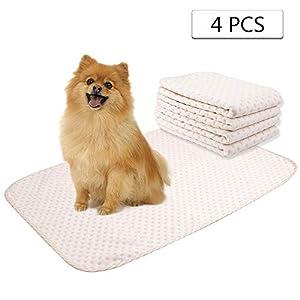 Pee pads Waschbar für Hunde Yangbaga Trainingsmatte Hund Waschbar - Maschinenwaschbar - Wiederverwendbar (50*70cm)
