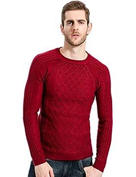 WTUS Ultra Hombre Jersey Básico con Cuello Redondo