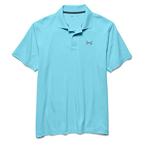 Under Armour Fisch Haken 2 Polo - Herren, Herren, Karibikblau (Fisch Under Armour)