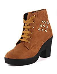 ccc07a3dd Brown Women's Boots: Buy Brown Women's Boots online at best prices ...
