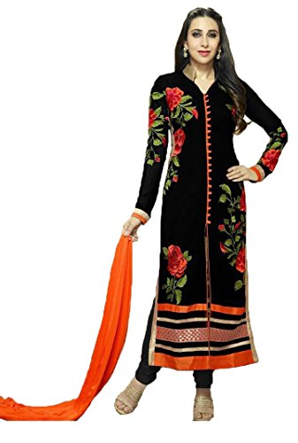 Clothfab Women Georgette Heavy Embroidery Work Great Indian Sale Pary Wear Today...