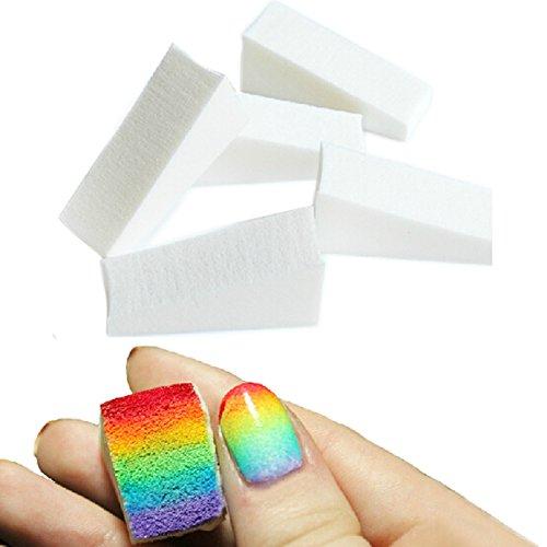 Vococal® 5Pcs Nail Art Éponge Étampage de Peinture Couleurs de Dégradé Polonais Bricolage Manucure Design Tool Kit