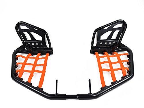 Nerfbar Yamaha Banshee YFZ 350 mit Heelguard orange Netze