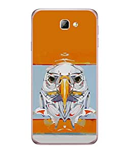 FUSON Designer Back Case Cover for Samsung On5 (2016) New Edition For 2017 :: Samsung Galaxy On 5 (2017) (Stearing Eyes Deadly Look Canvas Vision Bird Sky High)