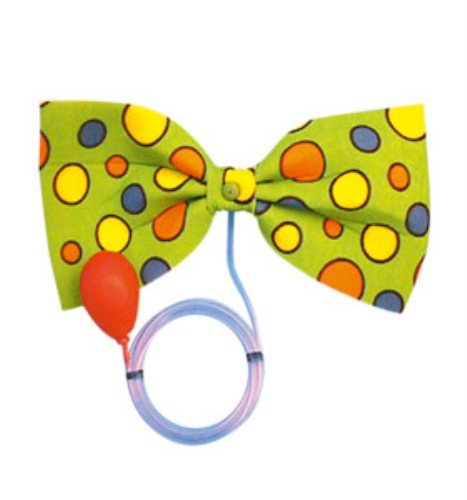 Party Bow-Tie Clown Water-Squirt Bow Tie for Fancy Dress Clown Laurel Hardy Black Red Gold All Colours Bowtie Tye