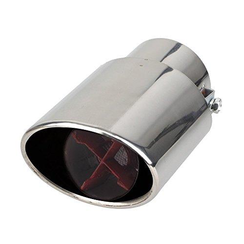 ridar car exhaust silencer tip rocket shape chrome for honda city zx RIDAR Car Exhaust Silencer Tip Rocket Shape Chrome for Honda City Zx 41ExFS 2B OYL
