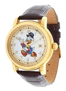 Disney Hommes Montre Picsou brun foncé DI-D16-094491-2