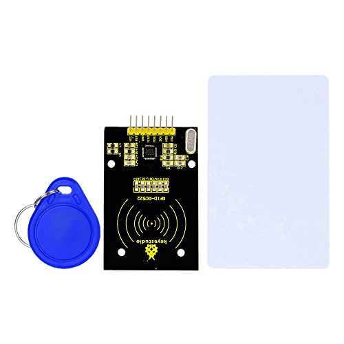 Amazon.co.uk - MFRC522 RFID Reader Module + S50 Blank Card + Keychain