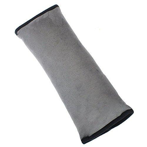 CAOLATOR Auto Sicherheitsgurt Schulterpolster Schlafkissen Schulterkissen Autositze Gurtpolster für Kinder Auto Baby Pillow Schulterschutz (Grau)