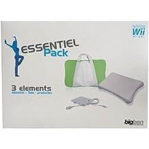Bigben Zubehör-Set Akku Tasche Skin Hülle für Wii Fit Balance Board Controller