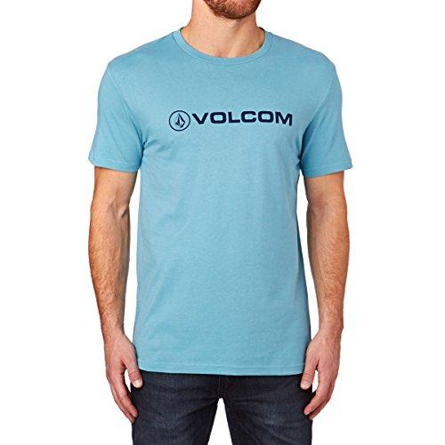 Volcom Herren, T-Shirt, NEW CORE SS Blau (used Blue)