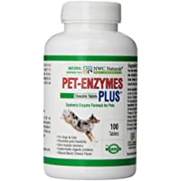 NWC Naturals pet-enzymes Junta Plus y Allergy relieve 100 pastillas.
