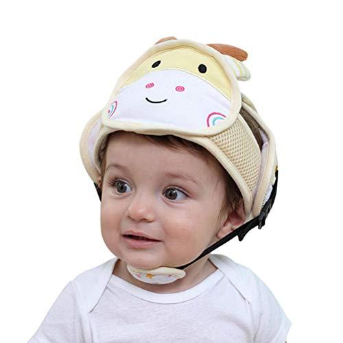 wolle Stoßstange Schutzkappe Für Kinder Krabbeln Oder Gehen, Antikollisionssicherheit Sicherheit Sport Kinnpolster Schutzkappe Einstellbarer Helm ()