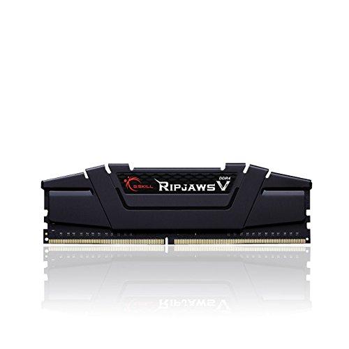 Gskill F4-3200C16S-16GVK Ripjaws V Arbeitsspeicher 16GB (D4 3200, C16, 1,35V) schwarz