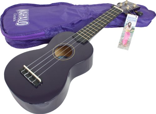 Mahalo Soprano Ukulele with Bag