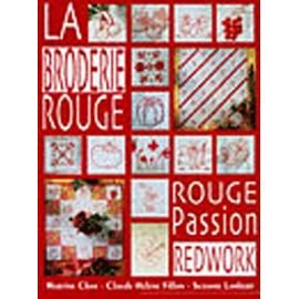 La broderie rouge, rouge passion