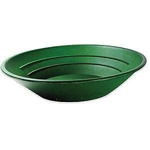 Pan pour l'orpaillage , rugueux et doux Riffel 25cm couleur vert