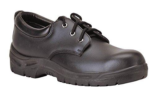 Portwest Fw04 SteeliteTM Travailler S3 De Cireur Mens Chaussures De Protection Noir