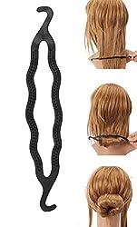 FOK Tail Braid Ponytail Hair Bun Maker Juda Maker Hair Styling Clip