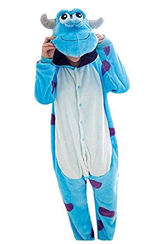eiligen Weihnachten Schlafanzug Onesie Sully (Sully Kostüme Für Erwachsene)