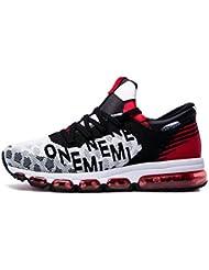 f493bf208b76e Onemix Air Hombre Zapatos para Correr Transpirable Zapatillas de Running para  Mujer Deportivas Calzado Unisex Adult
