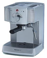 Espressione Café Minuetto Professional Thermoblock Espresso Machine, Silver