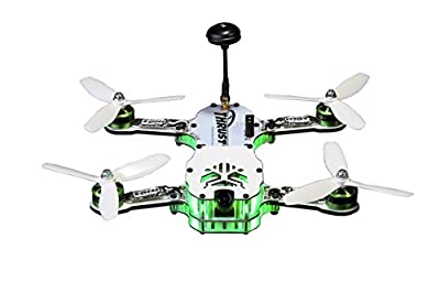 Thrust UAV TUV1003 airplanes 1003 Riot 250R Pro Edition Fpv Racing Drone (Artf-Almost Ready to Fly) by HRPAA
